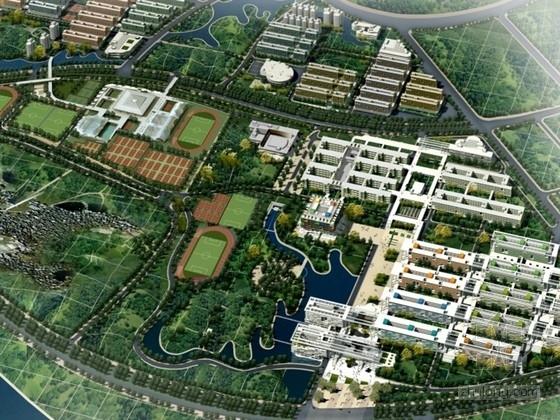 [广东]某大学体育馆建筑方案文本(含CAD)