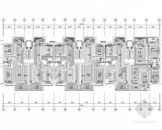 小区采暖系统施工图资料下载-[新疆]住宅小区地板辐射采暖系统设计施工图