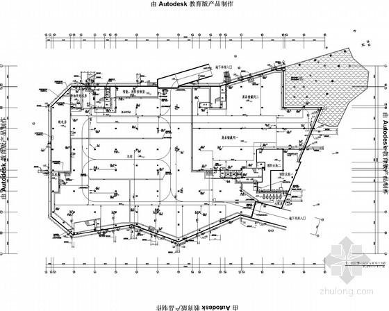 [重庆]知名规划展览馆给排水消防施工图
