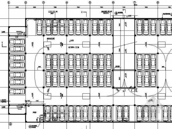 某居住区地下停车场设计施工图