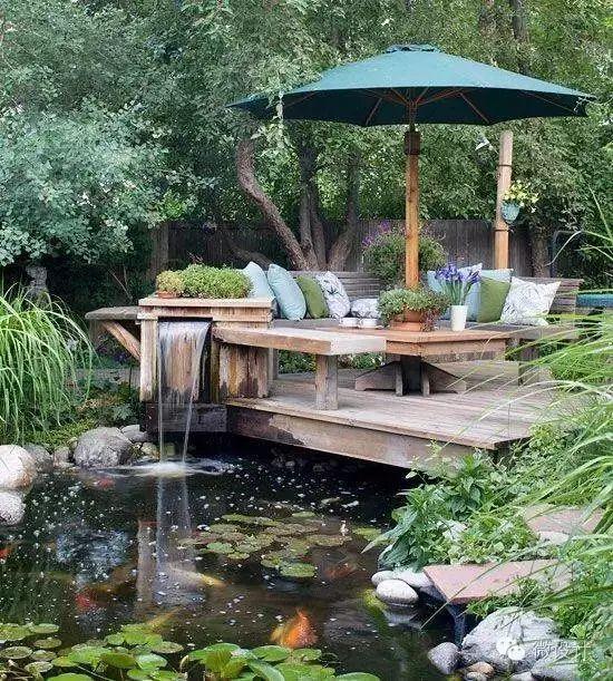 有了院子,一定要造一个水景