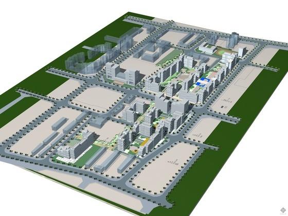 [北京]某风景住宅小区二期规划设计方案(二期招标文件、控规指标、配套户型平面)