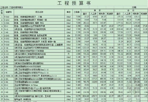 南京某宾馆装饰装修工程量清单报价书...