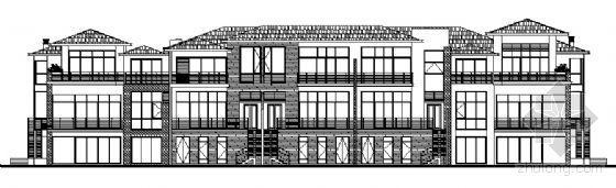 丹堤A区1号楼建筑施工图