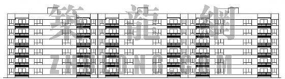 优秀经济适用房设计---整套图纸(毕业设计)