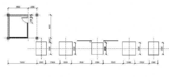 某公园大门施工图-2