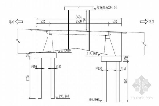 [四川]2016年设计下穿铁路25m现浇预应力简支箱梁桥设计图纸44张(宽57.78m)