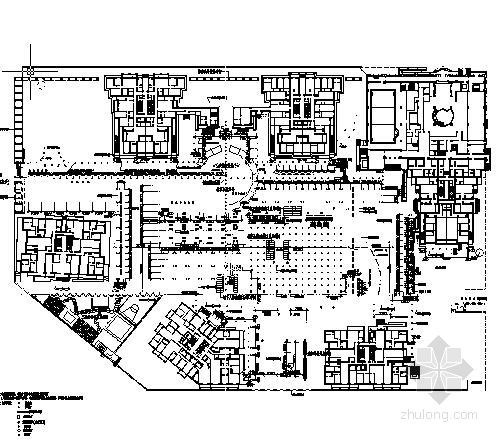 [上海]住宅区园林景观工程施工图(包含效果图)