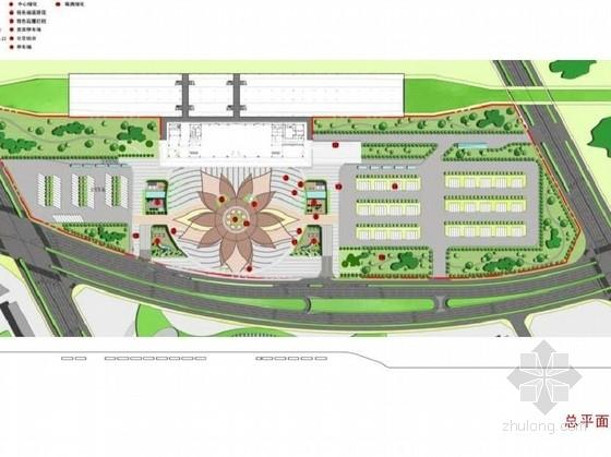 [保定]公共交通枢纽广场景观设计方案