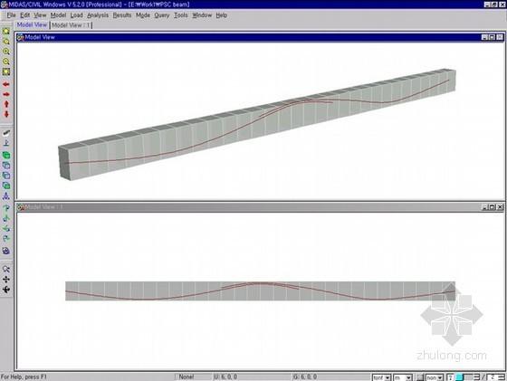 预应力混凝土梁施工阶段分析(midas教程)