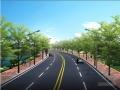 公园连接线双向两车道道路施工图设计36张(国际知名公司 护坡挡墙)