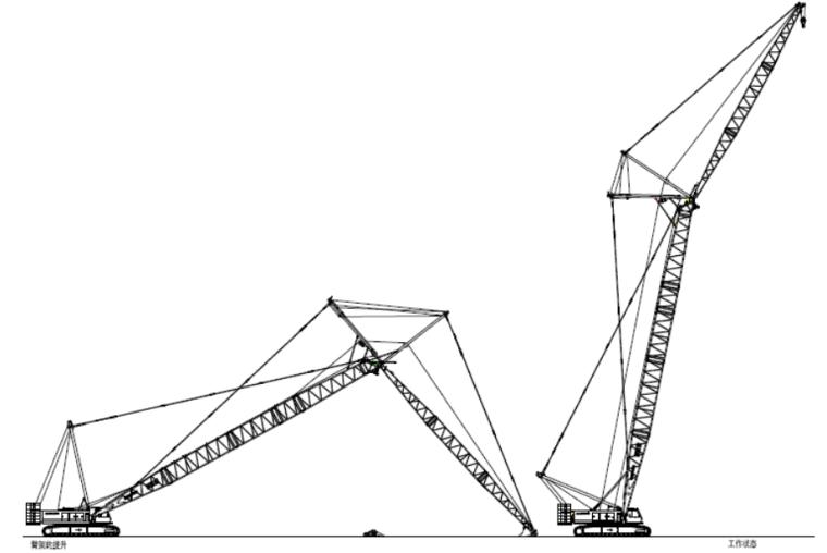 甘肃文化艺术中心场馆QUY260履带式起重机安装拆卸专项方案(四层钢框架支撑+钢砼框剪结构)