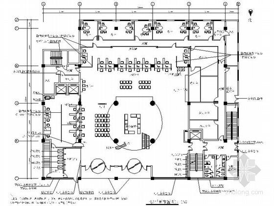 青岛工商银行分行室内装修图