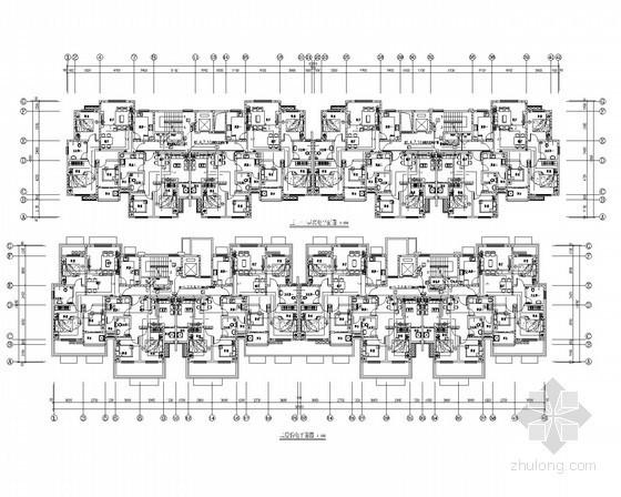 [山东]二类高层住宅楼全套电气施工图19张(2014最新设计)