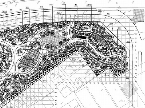 [安徽]铁路桥游园景观工程施工图设计文件