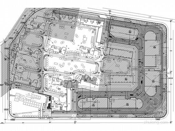 [湖南]大型住宅小区全套弱电图纸(含点位表、图纸会审记录)