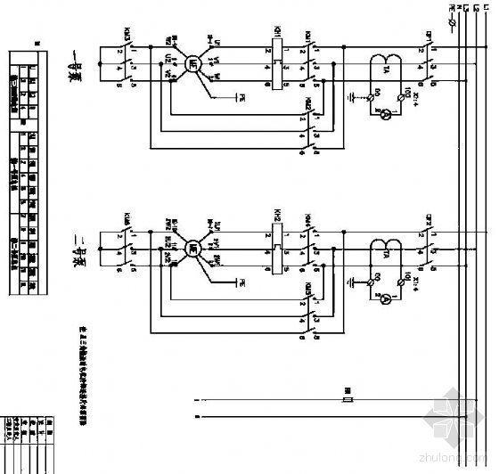 消防喷淋补水泵控制原理图