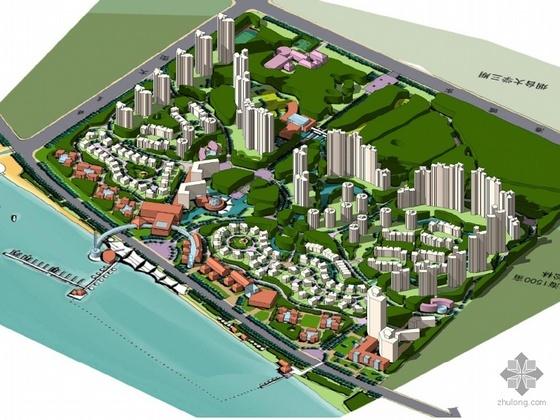 [烟台]某海滨综合居住区规划设计文本
