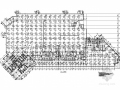 442个车位地下一层框剪结构地下室建筑结构施工图