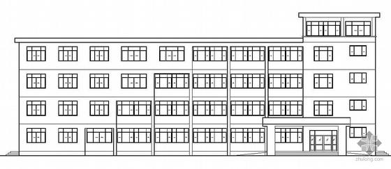 [苏州]某四层辅助教学办公楼建筑扩初(毕业设计)