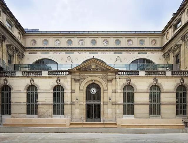 令人惊艳的前法国国家图书馆翻修后!
