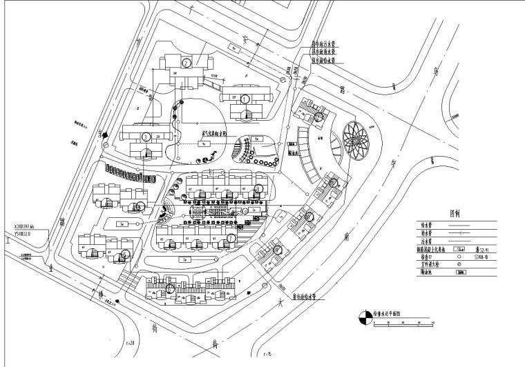 某花园综合住宅区详细规划cad28张_7