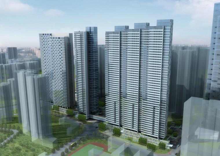 广州富力杨箕项目办公楼建筑设计方案文本