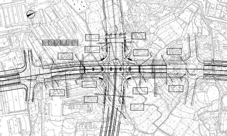 双向六车道跨线预应力桥工程施工图