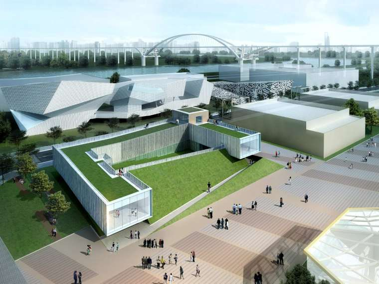 [上海]2010世博会爱尔兰馆建筑设计方案