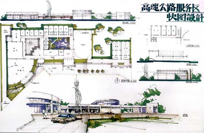180张超经典建筑快题设计方案_4