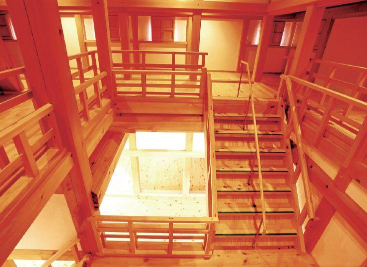 木结构建筑复原记:日本大洲城天守阁修缮_17