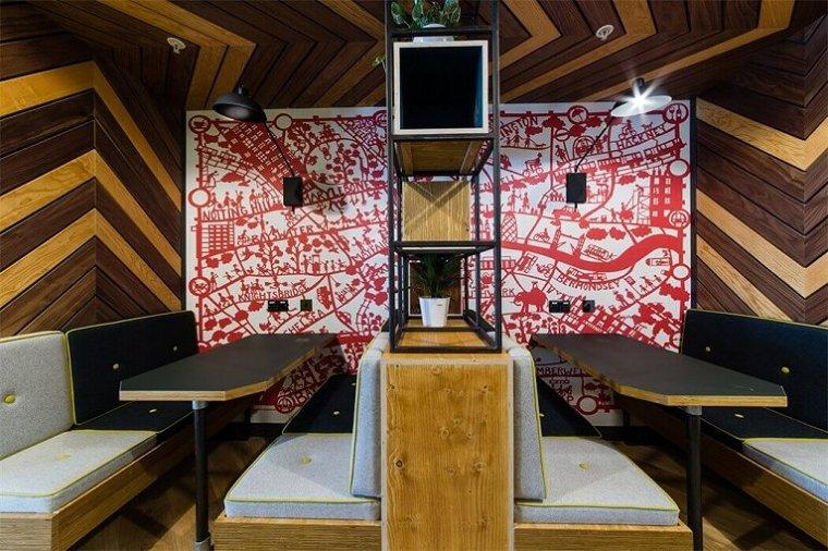 咖啡厅风格的联合办公空间-帕丁顿区WEWORK联合办公室室内实景图 (12)