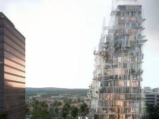 verticalvillage综合住宅景观