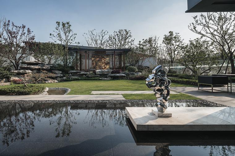 对话自然——南京九间堂二期山地别墅景观设