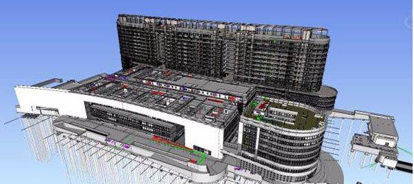 上海七宝万科广场BIM建筑信息模型应用总结