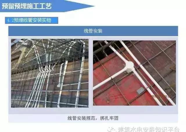 建筑电气预留预埋施工流程_10