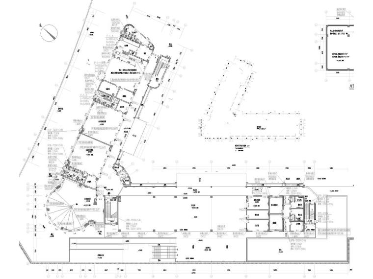 [广东]多层教育建筑幼儿园空调通风防排烟系统设计施工图(双格式)