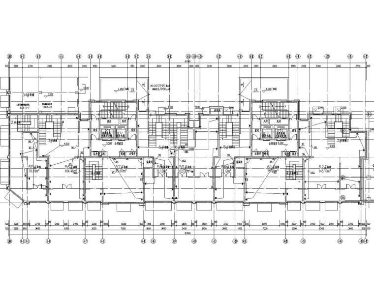 [安徽]住宅小区棚户区改造工程住宅商业地库电气全套施工图最新