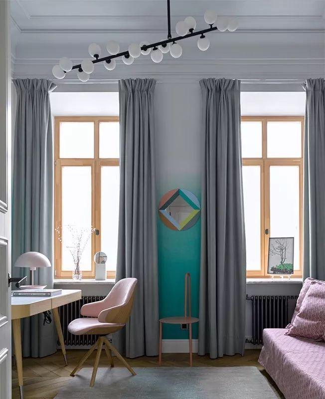 窗帘如何选择和搭配,创造出更好的空间效果_22