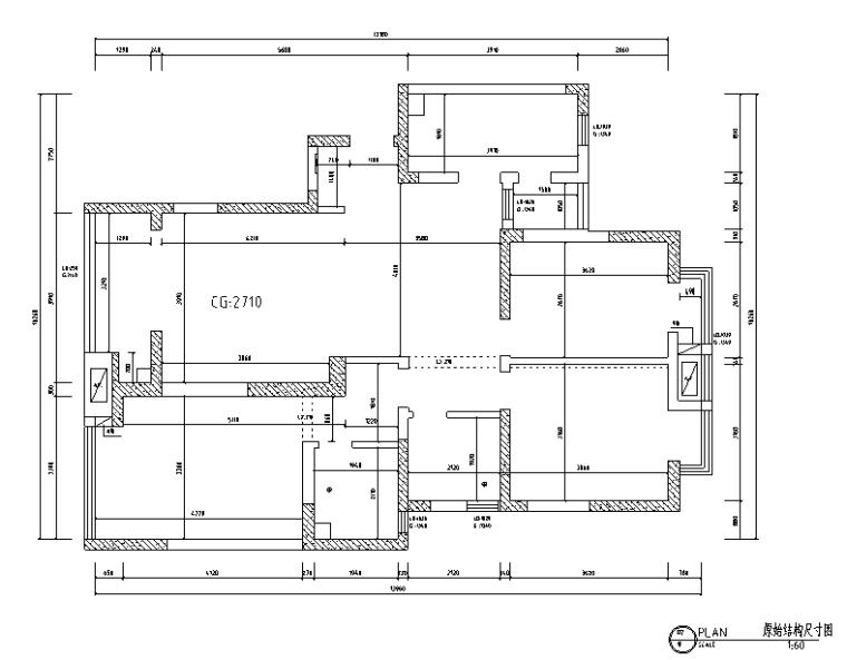 现代简洁名仕花园住宅设计施工图(附效果图)_3