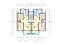 某小区住宅楼su模型+cad平面图+ppt效果方案(70张)