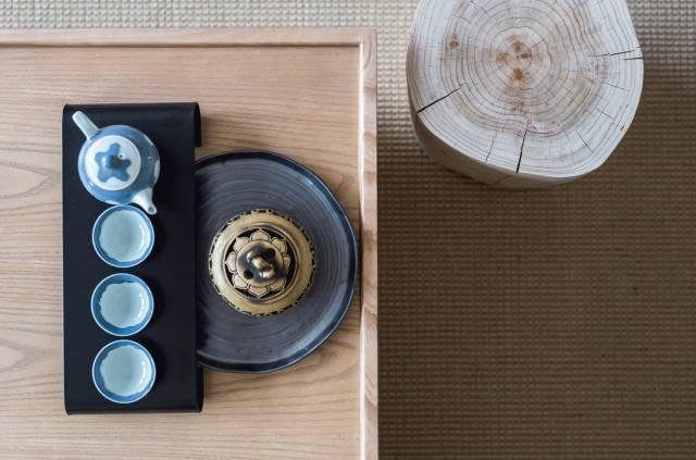 (附模型)有一种新中式,叫茶室设计……