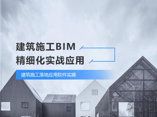 建筑施工BIM精细化实战应用