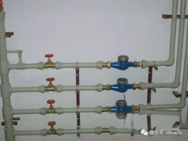 室内给水管道安装一般要求