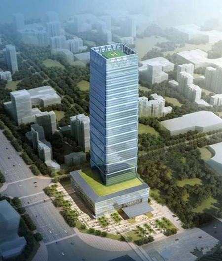 昆明投资20亿景成大厦开工,将建成248米超高地标建筑!