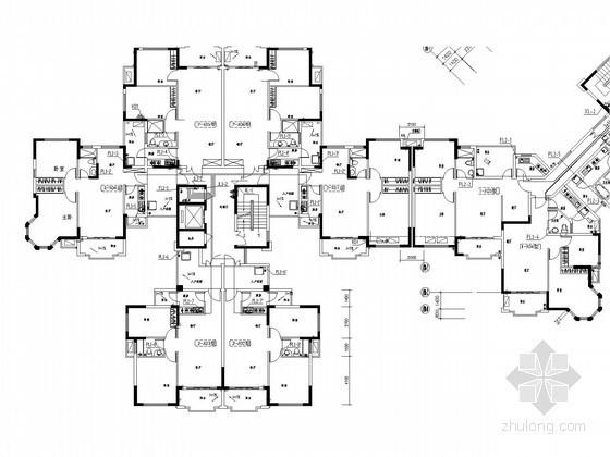 [河南]高层住宅楼给排水施工图(热水系统)