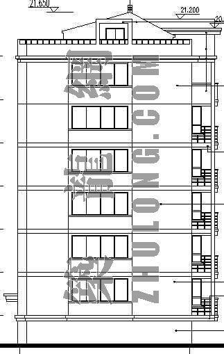 某小区住宅楼建筑施工图(3)-3