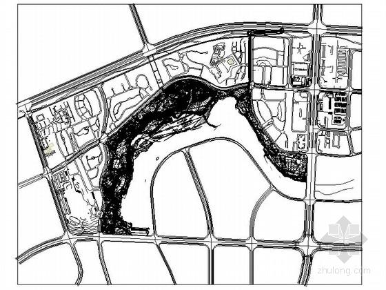 [浙江]滨湖公园景观规划设计施工图