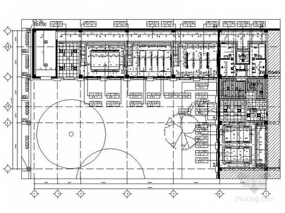 [北京]石油化工有限公司现代会议中心室内装修施工图