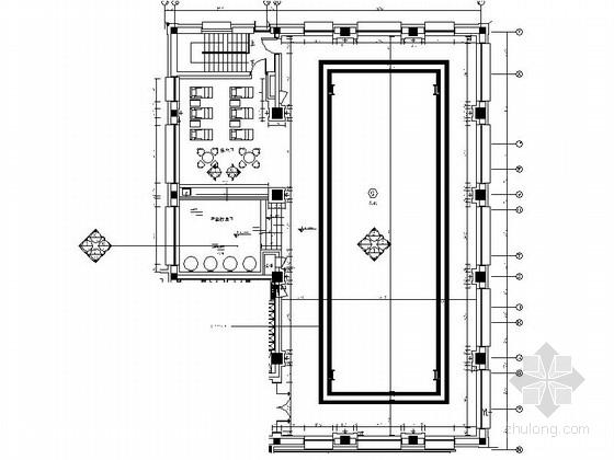 [石家庄]山水园林式五星级迎宾馆泳池设计施工图(含效果)